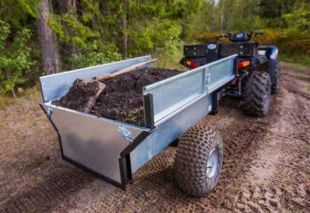 ATV/Quad/Tractor Rimorchio autoribaltabile