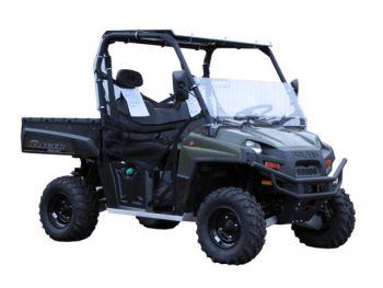 Schermo parabrezza (più basso)  Polaris 900 Diesel Ranger