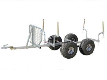 Timber trailer - 1000kg capacity