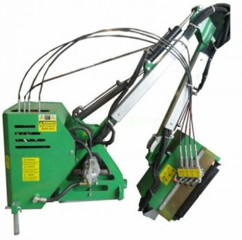 Compact Tractor Hedge Cutter with 100 cm working width