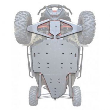 KIT PROTEZIONI Completa Aluminio - CAN AM MAVERICK X3 XRS