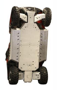 Skid plates kit completo - Polaris RZR 800