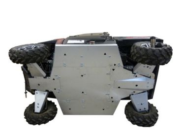 Skid plates kit completo - Polaris 900XP Ranger