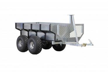 Rimorchio legna ATV + vano di carico
