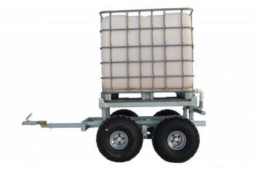 Rimorchio legna ATV + WATER TANK KIT (1000L)