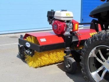 ATV spazzola rotante, motore 4,8 HP Honda