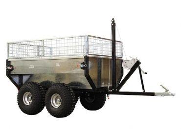 Rimorchio auto ribaltabile, 1000 kg capacità