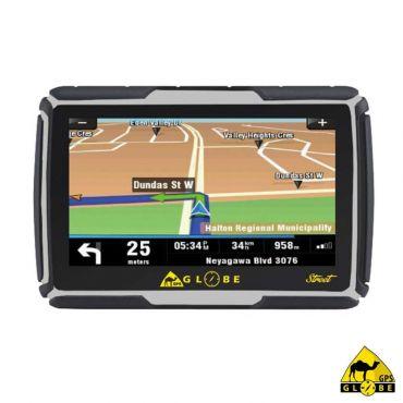 "GPS Globe Street - schermo impermeabile IP67 - 4,3 ""- Mappa dell'Europa"