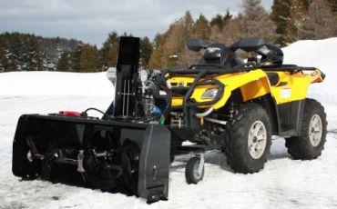 "ATV aspira neve 48"" (122CM) 14hp Kohler engine"