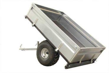 Rimorchio auto ribaltabile - 500 kg capacità