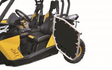 A.R.T SSV alluminio frame/nero pannello PHD set pannelli laterali Can Am Maverick 1000