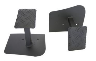 PASS. STEADY FOOTREST GRIZZLY SET