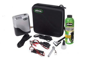 SLIME Moto Kit di riparazione con compressore e sigillante gomma