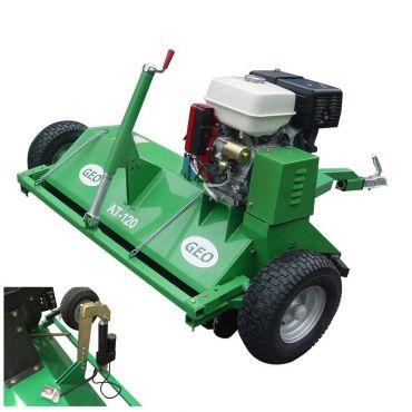 ATV 120 Trinciaerba a scoppio per quad con cilindro elettrico