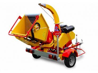 XYLOCHIP 175 M - 51 HP Lombardini Diesel engine mounted wood chipper / shredder