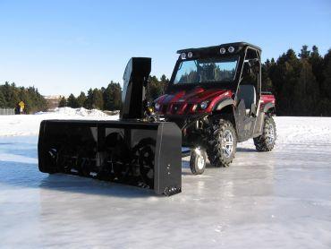 "ATV aspira neve 66"" (167 CM) 22HP HONDA ENGINE"