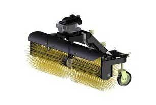 Spazzola angolata per pulitura strade per ATV - UTV