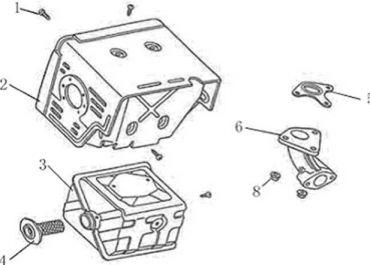 GEO ATV 120 spare parts