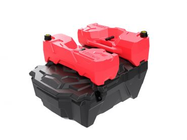 Scatola portaoggetti posteriore UTV / SXS per Polaris RZR 1000