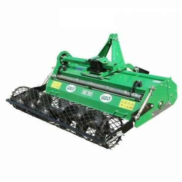 Heavy Duty Stone Burier for Compact Tractors (Working width : 125cm)